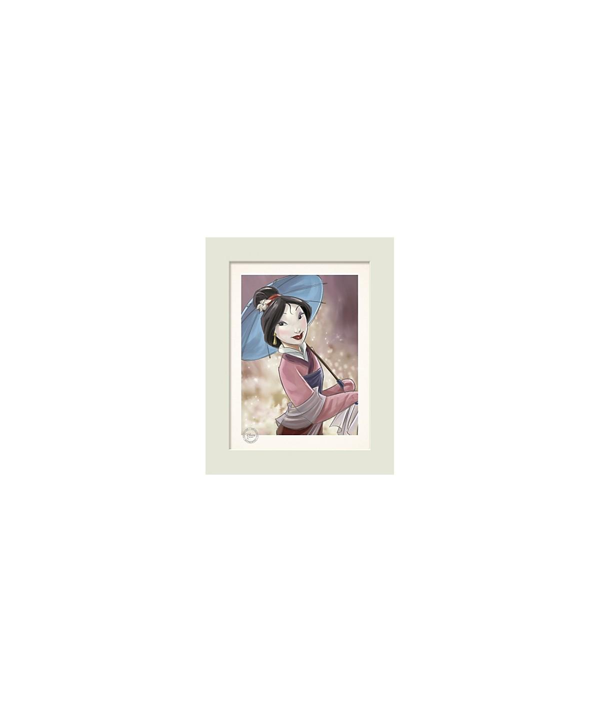 Quadro edizione limitata Mulan Disney Store